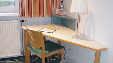 Arbeitsbereich im Zimmer